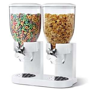 Turn your home into a cheap hotel. Fresh & Easy Classic Dry Food Cereal Dispenser Double 11.97 delivered @ Denny Shop on Amazon