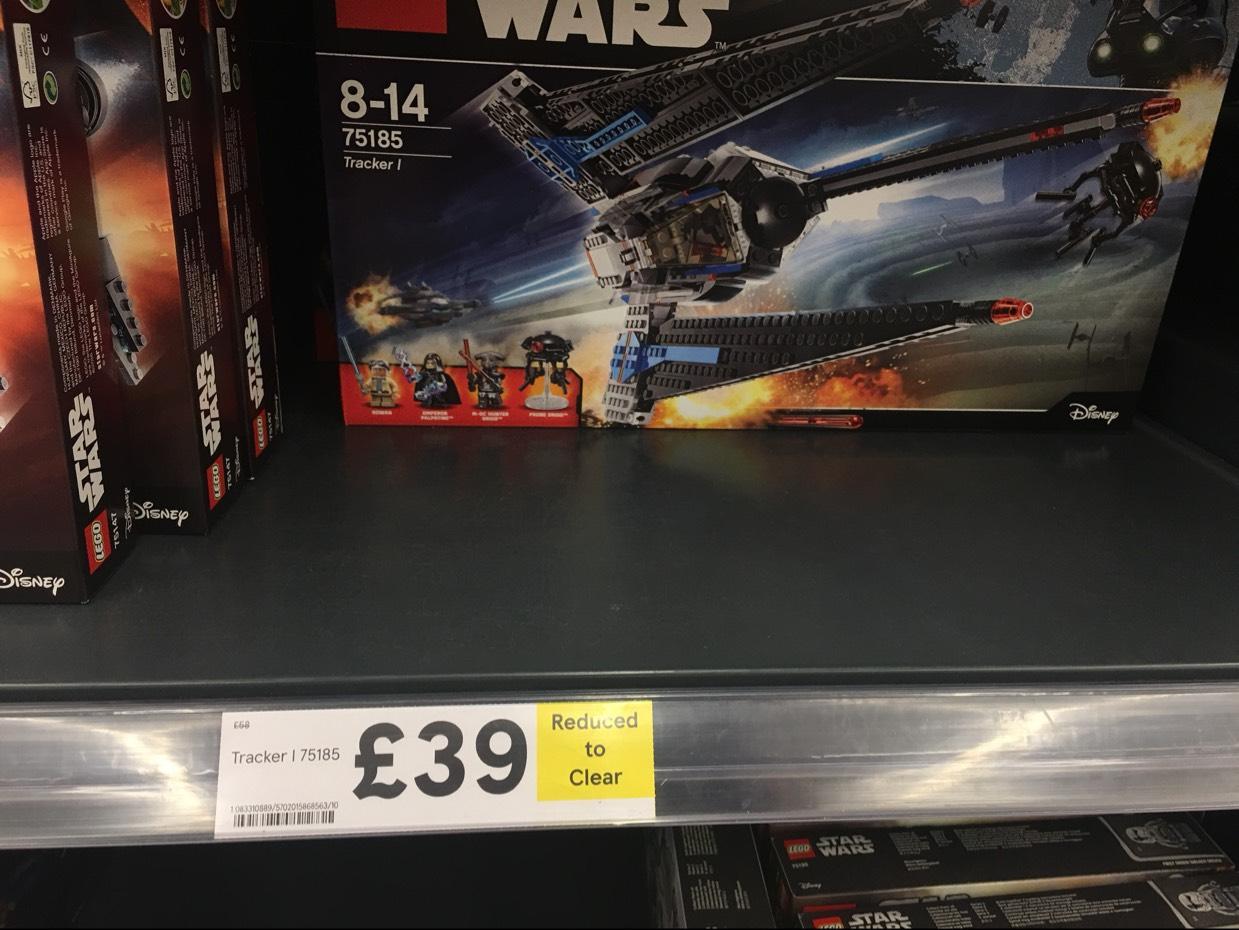 LEGO Star Wars Tracker 1 £39 instore @ Tesco (Kingston Park Newcastle)