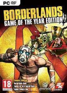 Borderlands: Game Of The Year Edition (Steam) £2.70 @ Instant Gaming