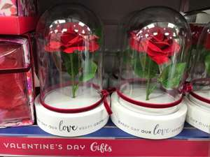 Beauty and the beast inspired valentine gifts £3.99 instore / online at card factory (online + £2.99 - £3.99 Del)