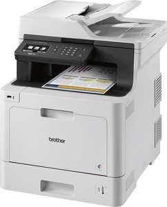 Brother MFC-L8690CDW Wireless Colour Laser Printer £305.36 (£180.36 after cashback) Del @ Ebuyer