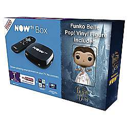 Now TV HD Digital Media Streamer Sky Cinema 1 Month Pass and Sky Store Voucher w/ Free Belle Pop! Figurine £15 C+C @ Tesco Direct
