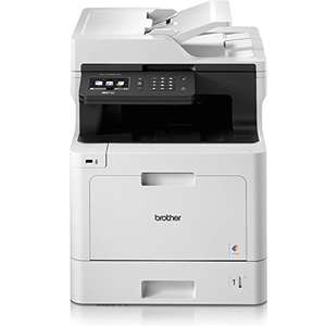 Brother MFC-L8690CDW Wireless All-in-One Colour Laser Printer amazon - £309.60 - £184.60 after cashback