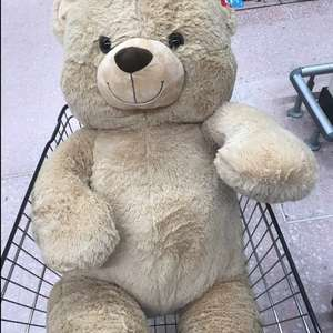 Kid Connection Giant Teddy Bear - 130 cm - £12.50 instore @ ASDA