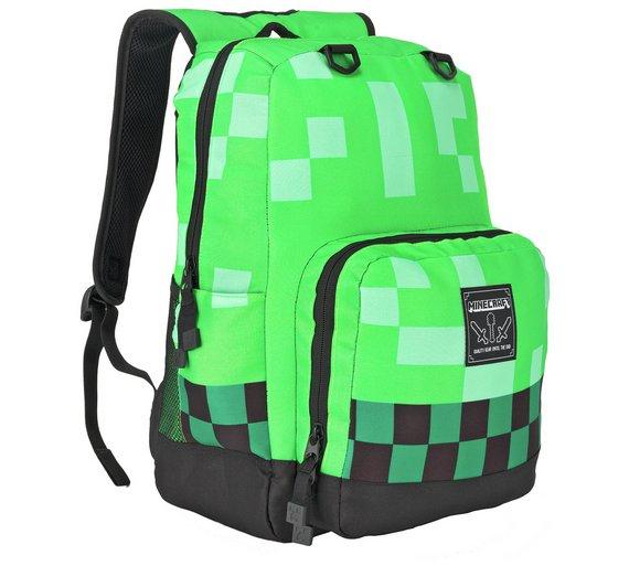 Minecraft Backpack £14.99 @ Argos