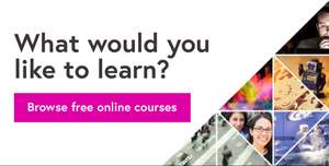 FREE online courses from top universities and specialist organisations