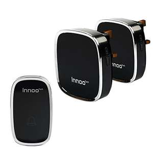 Innoo Tech WD-22 Wireless Doorbells £12.99 Prime / £16.98 Non Prime Sold by InnooCare and Fulfilled by Amazon