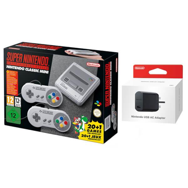 Nintendo SNES Classic Mini + Nintendo USB Power Adapter £79.99 @Nintendo UK