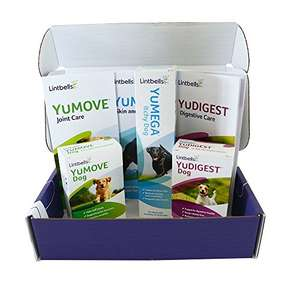 Lintbells Supplements Value Pack (YuMOVE, YuDIGEST and YuMEGA) £10.31 Prime / £15.06 Non Prime @ Amazon