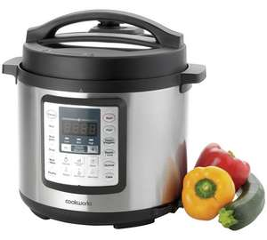 Argos Cookworks Digital Pressure Cooker reduced from £49.99 to £39.99