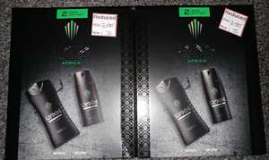 Lynx Africa 2 Pack Edition - Body Wash - Body Spray - £1.25 - Wilko - Great Yarmouth/Norwich