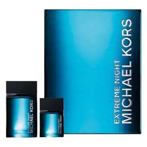 Michael Kors Extreme Night Eau de Toilette Gift Set for him (120 ml + 40 ml) ***Read Description to get this price ***@ The Perfume Shop
