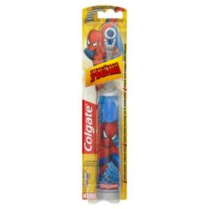 Colgate Spider-Man Kids Battery Powered Toothbrush £2.79 Free C&C @ Lloyds Pharmacy