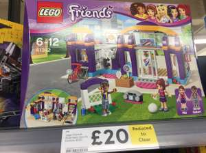 Lego friends heartlake sports centre reduced to clear £20 Tesco instore