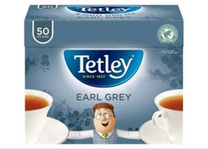Tetley Earl Grey 50 Tea Bags £1 @ Asda