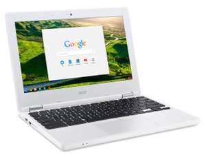 Acer Chromebook 11.6 Inch (Refurbished) - Google Play App Support, Celeron, 2GB, 16GB, IPS Display, 12 Month Guarantee, White £109.99 @ Argos eBay