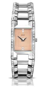 Seksy Ladies' Stainless Steel Peach dial Bracelet Watch only £12.45 @argos ebay