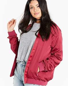 Ruched Sleeve Bomber Jacket. Was £45 now £15 @ Simply Be (Free del on 1st order, otherwise £3.50)