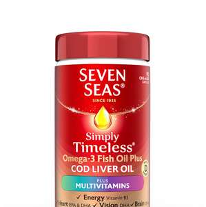 Seven Seas 3x90 Cod Liver & Multi Vitamin Tablets - £12.52 Prime / £16.51 Non Prime @ Amazon
