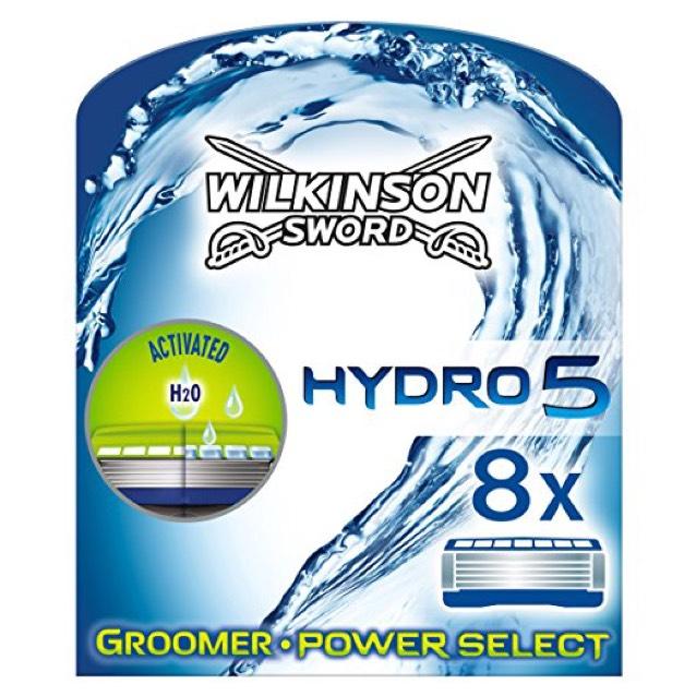 Hydro 5 razor blades (8 pack) £10 @ Amazon (Prime Exclusive)