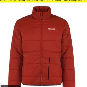 ZYBER JACKET BURNT TIKKA £14.95 (+£3.95 del) @ Regatta Outlet
