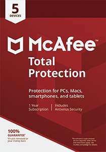 McAfee Total Protection (5 Users) - £9.99 w/ Student Prime