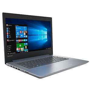 "Lenovo IdeaPad 320 Laptop, Intel Core i3, 8GB RAM, 128GB SSD, 14"", £349.95 @ John Lewis"