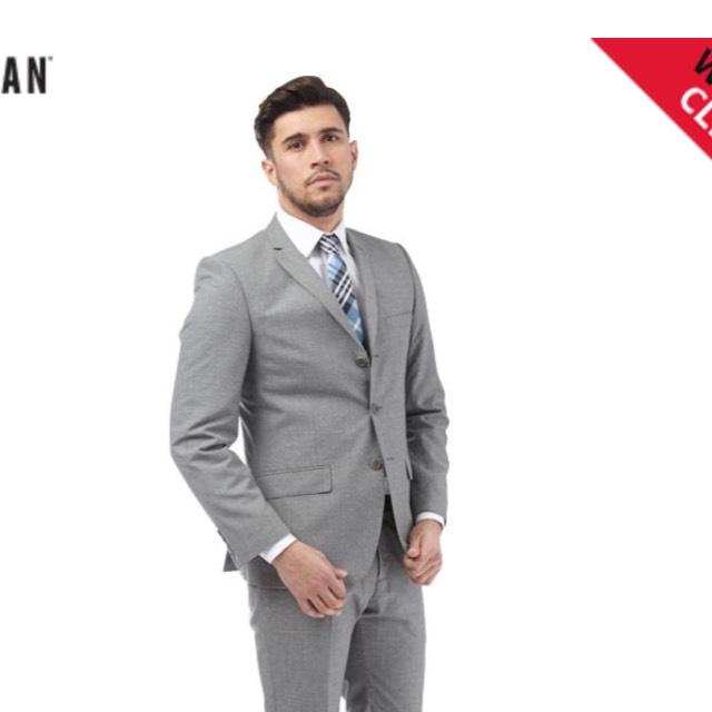 Men's Ben Sherman Regular Check Suit RRP £289.99 - Now £74.99 @ MandM Direct