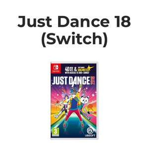 Just dance 2018 switch - £26.99 @ Grainger Games