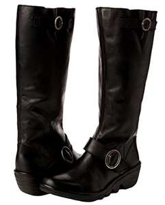 Fly London knee-high leather boots from £42 @ Amazon
