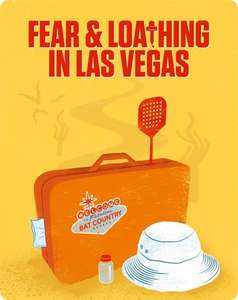 Fear and Loathing in Las Vegas (Futurepak / Metalbook ) [Blu-Ray] only £4.50 delivered with code @ Zoom
