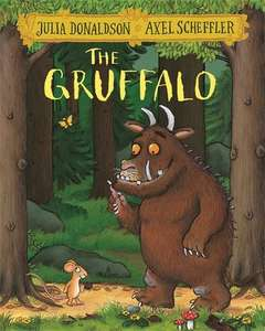 The Gruffalo - Paperback @ £3.49 Sold & Fulfilled by Amazon (£6.48 non-Prime)