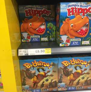 Hungry hippo reduced to clear instore Tesco £8.50
