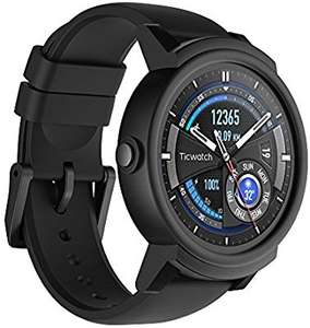 Ticwatch E Smartwatch-Shadow,1.4 inch OLED Display, Android Wear 2.0,Compatible with iOS and Android, Google Assistant  £116.99 Delivered @Amazon
