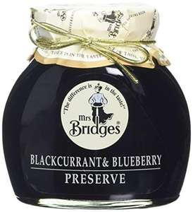 Mrs Bridges Blackcurrant and Blueberry Preserve (Pack of 6) amazon add on item minimum 20 pound spend £5.14