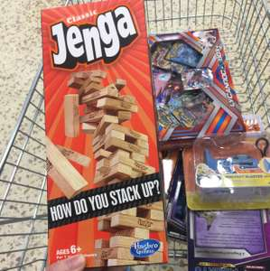 Classic jenga reduced to clear Tesco instore £5.50