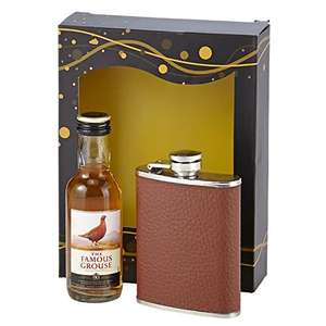 Famous Grouse Whisky & Hipflask Gift Pack £6.77 Add On Sold by 2 Bear Steps and Fulfilled by Amazon