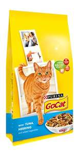 Go-Cat Adult Cat Food Tuna Herring and Veg, 10 kg @ Amazon £15 (PRIME Exclusive)