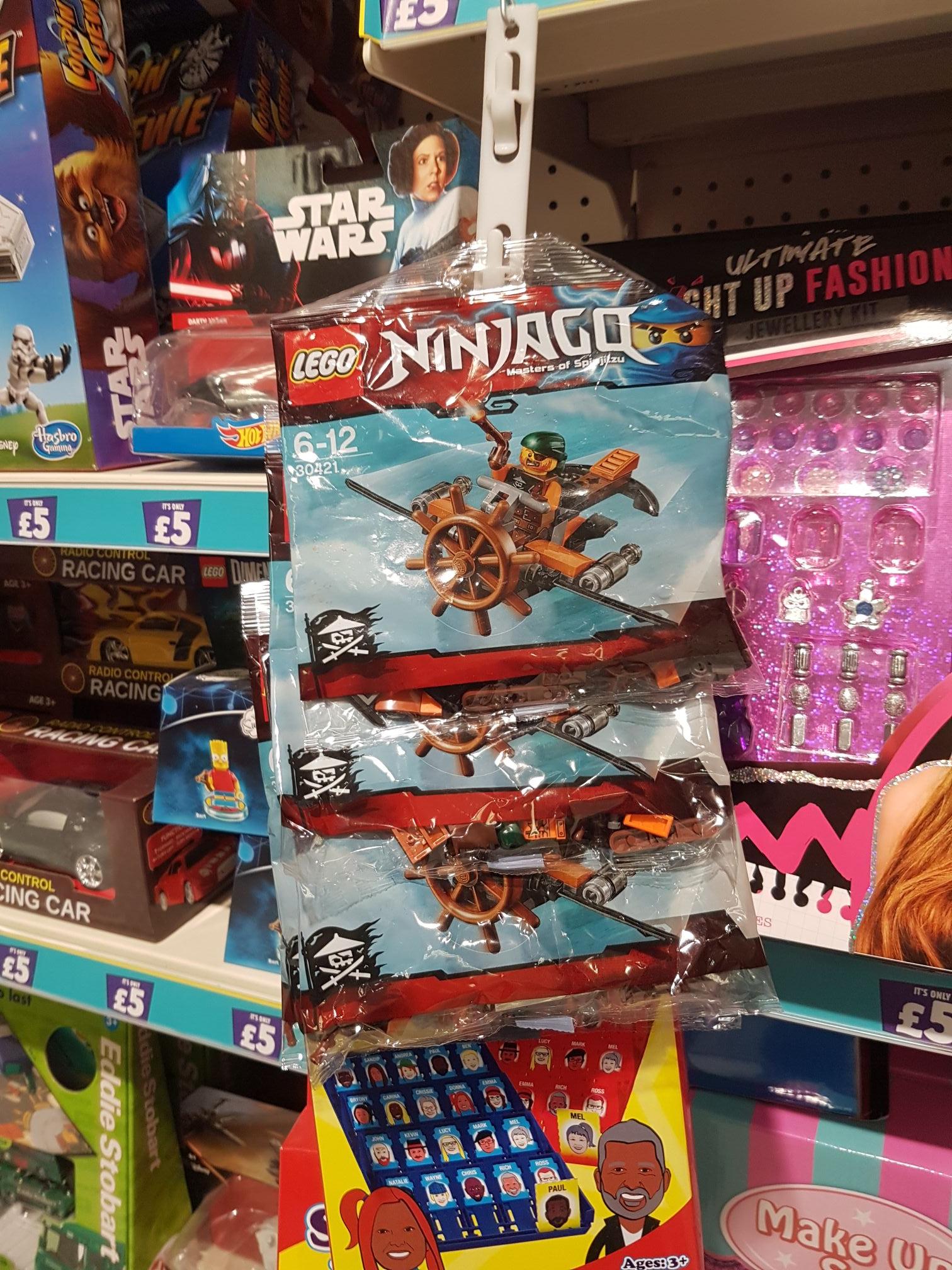 Lego Ninjago packs £2 @ poundland
