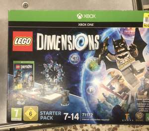 Xbox one and 360 Lego Dimensions Starter Pack £19.95 Instore Tesco Watford