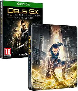 Deus Ex: Mankind Divided -  Steelbook Edition (PS4/XO) £5.99 Delivered @ GAME