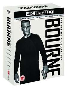Bourne: The Ultimate 5-movie Collection (4K Ultra HD + Blu-ray + Digital Download) [UHD] £27 with code @ Zoom also The Purge 4k trilogy £18