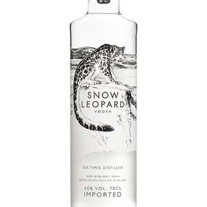 Snow Leopard Vodka 0,7L now only £25 FREE UK Delivery with Amazon