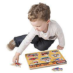 Melissa & Doug Vehicles Sound Puzzle £5.78 at Tesco