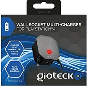 Gioteck multisocket micro USB wall charger £1.00 at poundland