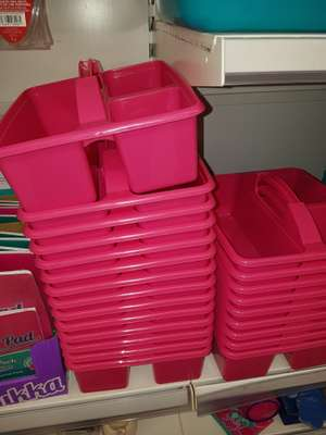 Blue and pink cleaning caddy - 2p instore @ ASDA (Hunts Cross)