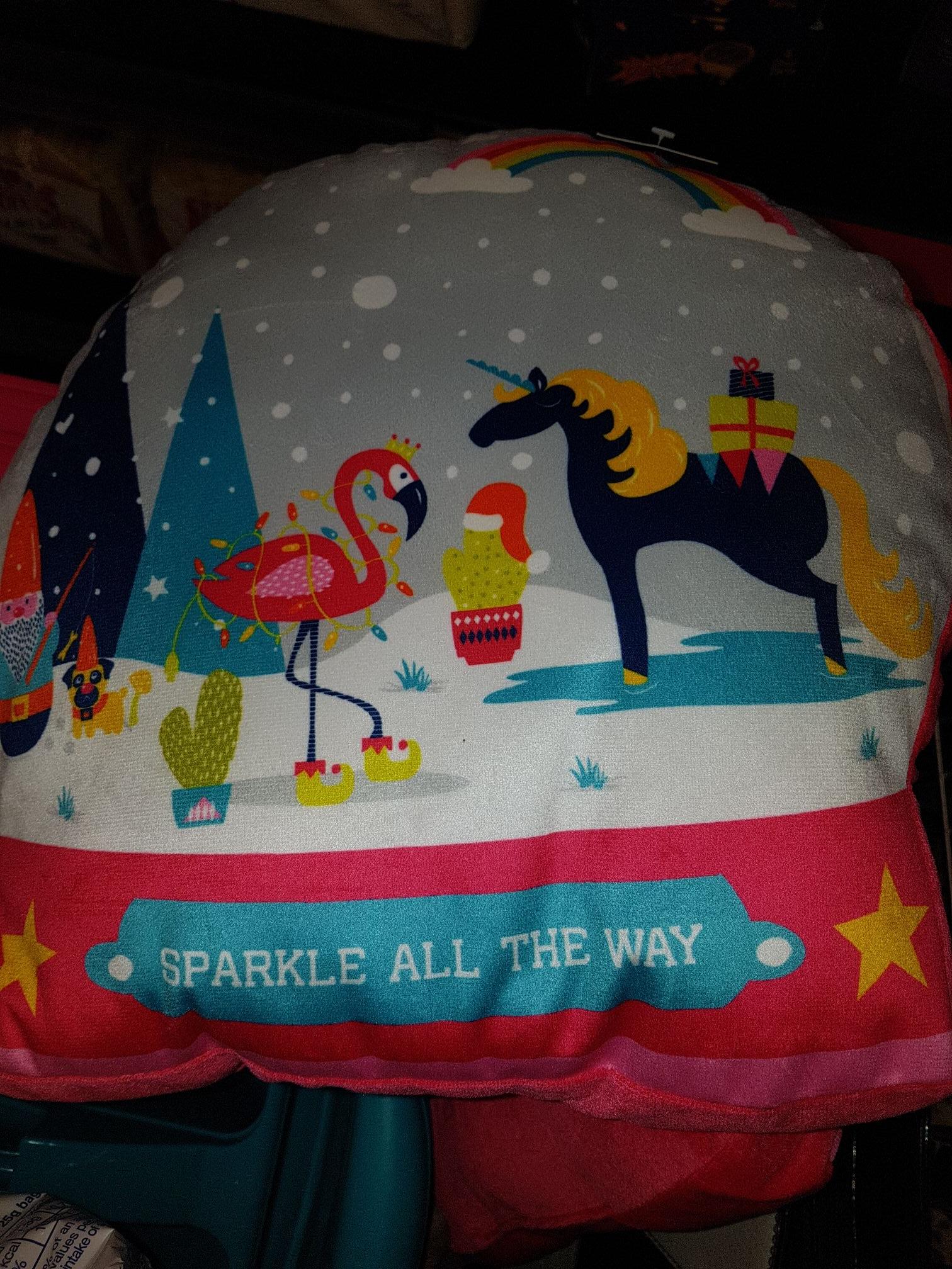 Kids cushions 50p asda instore (Hunts Cross)