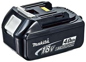 Official Makita 18v 4Ah Battery £47.22 @ Amazon