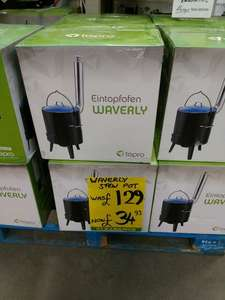 Waverly stew pot - outdoor cooking £34.93 instore at Homebase