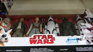 Star Wars Last Jedi 6 pack of Heroes Now £6 Only at Tesco Express Gatwick
